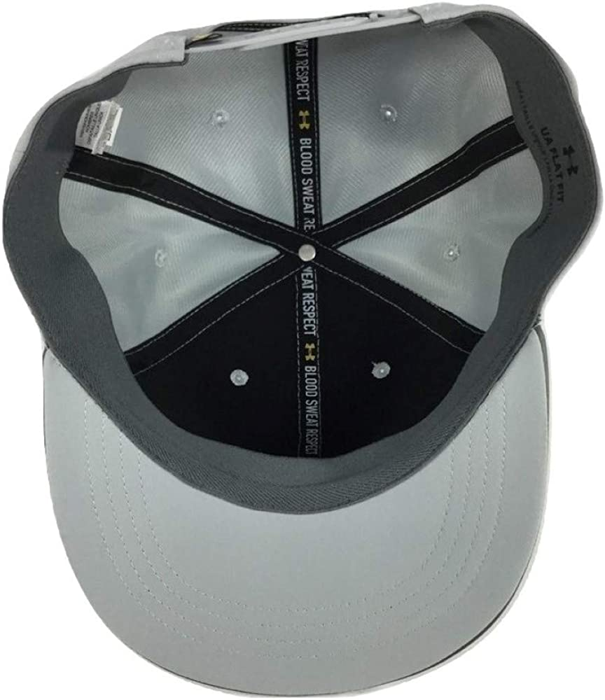Under Armour Mens UA Project Rock Flat Brim Cap Hat