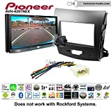 Pioneer AVH-4201NEX Double Din Radio Install Kit with Apple Carplay Android Auto Bluetooth Fits 2007-2013 Mitsubishi Outlander