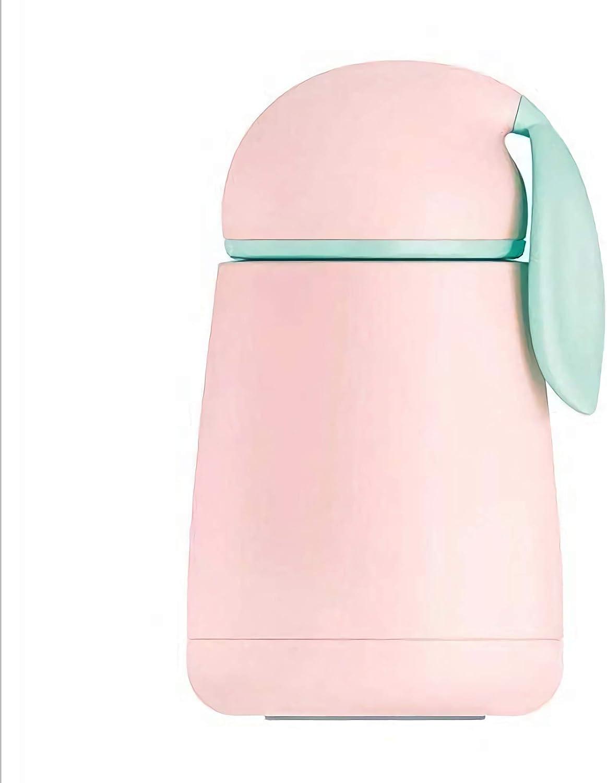Blu Wifehelper Tazza Sottovuoto in Acciaio Inox Leggero Portatile Modello di Coniglio Carino Tazza di Vuoto Tazza Tazza Termica Bottiglia dAcqua Casa Ufficio Viaggi Scuola PIC-nic