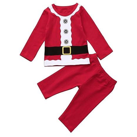 gbsell Brother hermana recién nacido bebé niño Niña Navidad Pelele pijama Navidad familia ropa, Top&Pants