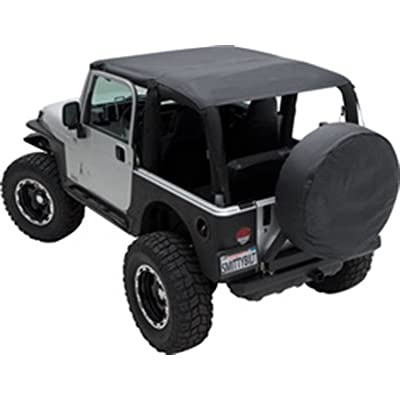 Smittybilt 93735 Extended Top for 2004-2006 Jeep Wrangler LJ Unlimited: Automotive