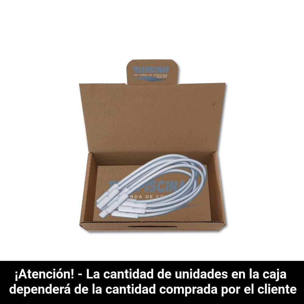 Telepiscinas Kit 18 Und. - Goma Elástica Tensores para Cobertores ...