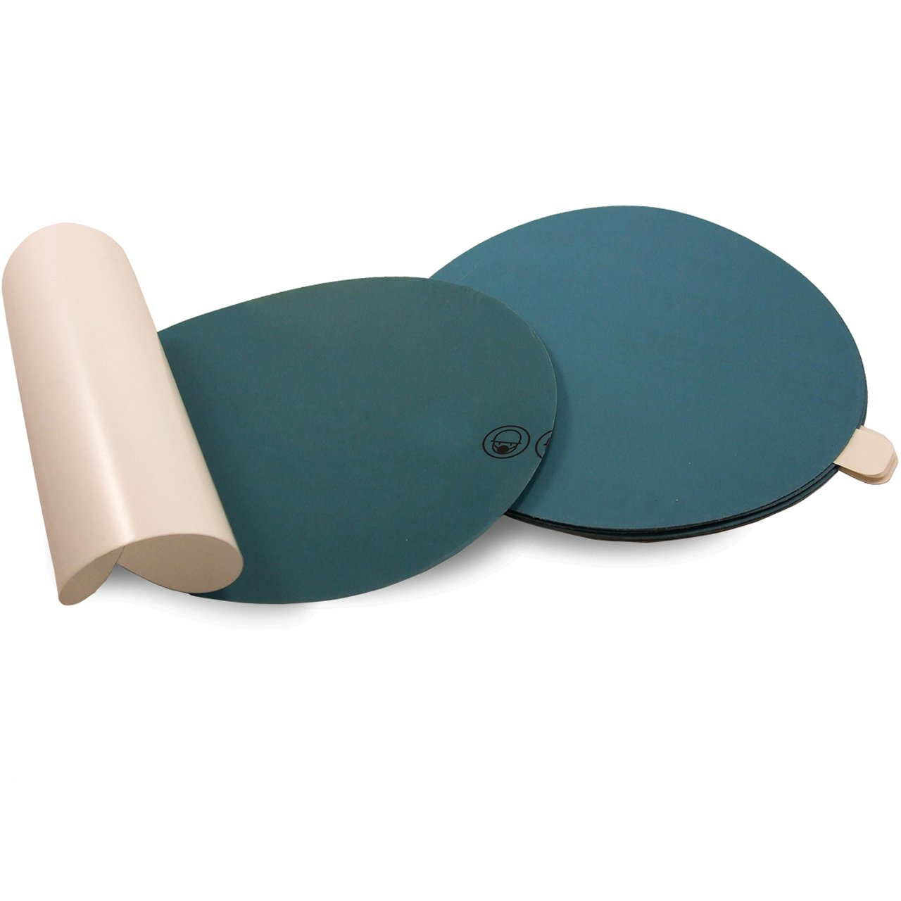 PSA 50-Pack Auto Body Film Sanding Discs 6 Inch 400 Grit Adhesive Back