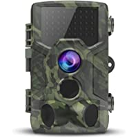 VICTONY Trail Camera, 1080P HD Wildlife Game Hunting Camera with Motion Activated Night Vision, 120° Wide Angle Lens, IP65 Waterproof Wildlife Scouting Camera for Outdoor Surveillance