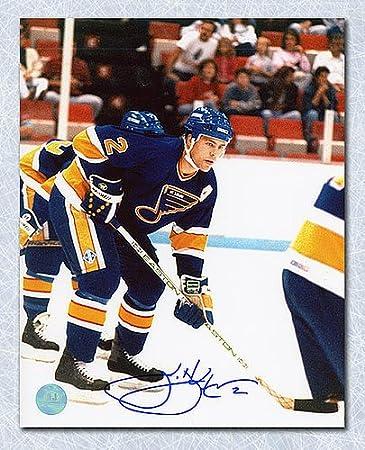 456dfd40 Scott Stevens St. Louis Blues Autographed 8X10 Photo - Signed Hockey  Pictures