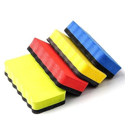 fitTek Borrador Mágnetico para Pizarra Velleda Multicolor Eraser