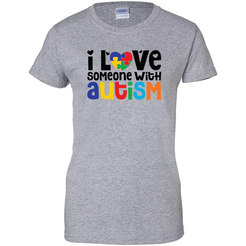 Autism Awareness ALL Style Women`s T-shirt Support Love Light it Up A.Pink Tee