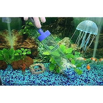amazon com aqueon aquarium siphon vacuum aquarium gravel cleaner