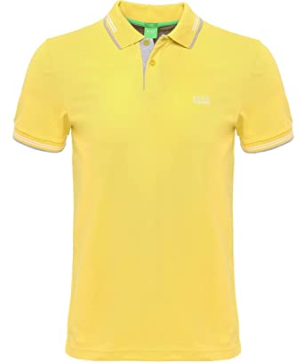 BOSS Green - Polo - para Hombre Amarillo Amarillo XXX-Large ...