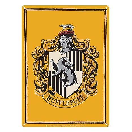 Cartel pequeño de Harry Potter - Hufflepuff Crest