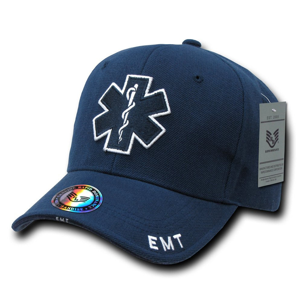 Rapiddominance EMT Cross Deluxe Law Enforcement Cap, Navy Rapid Dominance JW-EMT_CROSS