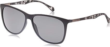 Hugo Boss Boss 0823/S 6E YV4 gafas de sol, Negro (Black Greyhvn/Grey), 58 Unisex-Adulto