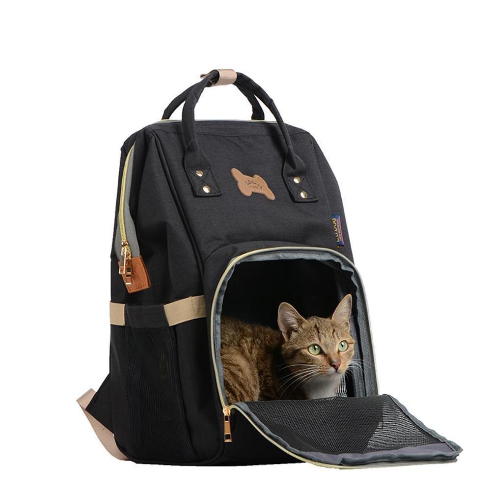 fino al 60% di sconto Dixinla Zaino per animali domestici Gabbia Gabbia Gabbia del cane portatile dual-shouldered poliestere bagagli gatto, 30  28  43cm  tutti i prodotti ottengono fino al 34% di sconto