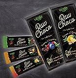 Vegane Schokolade aus Finnland # Starterset # 6 Riegel + 2 Tafeln # 70% Kakao # Vegeway
