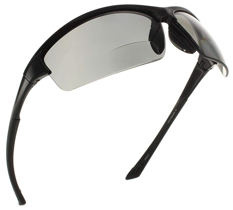 34f535b0c4e3 Amazon.com  Fiore La Jolla Bifocal Polarized Reading Sunglasses TR90 Readers  for Men and Women  Black