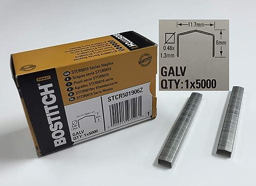 Stanley Bostitch STCR 5019 6mm Heftklammern Klammern 5000 Stück NEU