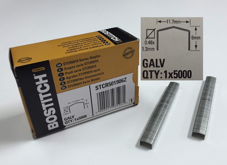 Agrafe STCR - H. 6 mm - Boî te de 5000 - STCR501906Z BOSTITCH