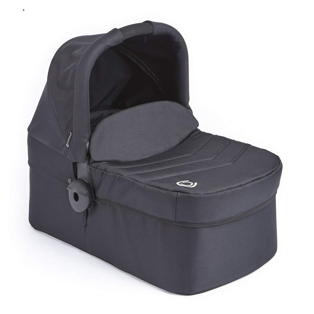 Contours Bassinet Accessory for Contours Options, Contours Options Elite, Contours Curve Tandem Double Strollers, Black