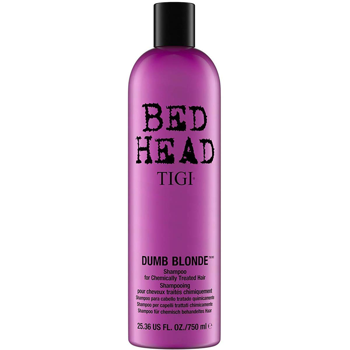 Bed Head by Tigi Dumb Blonde Shampoo for Damaged Blonde Hair 750 ml