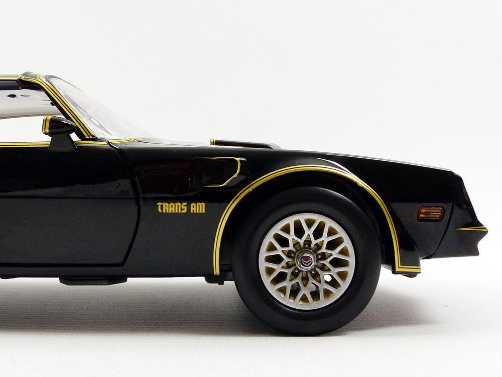 /19025/ /Smokey and The Bandit 1/ /1969 /Fahrzeug Miniatur/ Ma/ßstab 1//18 /Pontiac Firebird/ Greenlight Collectibles/ schwarz