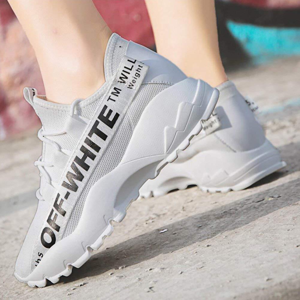 Oudan Frauen-Turnschuhe Leichte Trainer Turnhalle gehende Eignung-Laufende Turnschuhe Sport-Schuhe Sport-Schuhe Sport-Schuhe zufällige Maschen-Athletische Turnschuhe (Farbe   Weiß Größe   38) (Farbe   Weiß Größe   37) 8bf38b