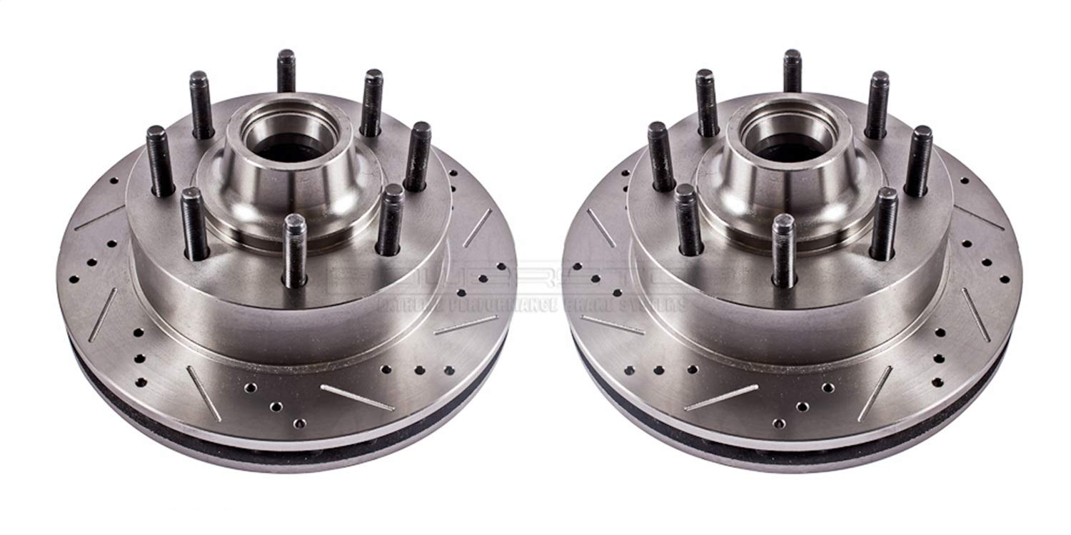 Power Stop AR8181XPR Front Evolution Drilled /& Slotted Rotor Pair