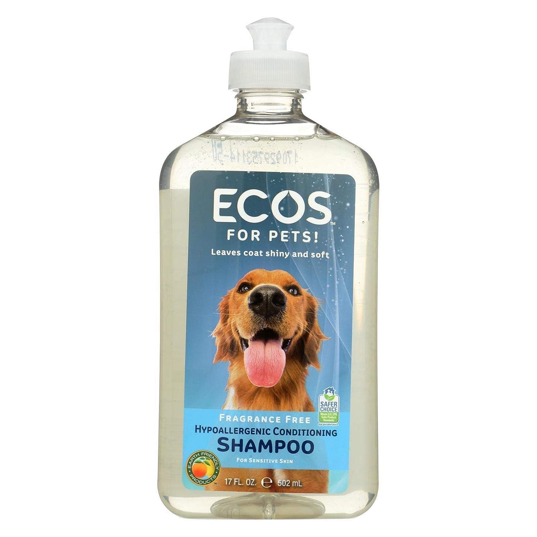 Earth Friendly Products Pet Shampoo Fragrance Free, 17oz