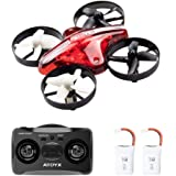 2019 Upgraded Mini Drone for Kids and Beginners Easy to Fly, 2.4Ghz 6-Axis Gyro 4 Channels Nano Quadcopter, Portable Small Flying Drone is Boys and Girls Toys Gift(AT-66)