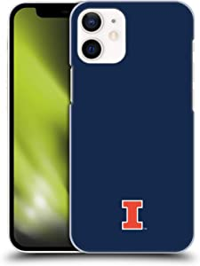 Head Case Designs Officially Licensed University of Illinois U of I Fighting Illini Hard Back Case Compatible with Apple iPhone 12 Mini