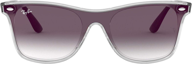 Ray-Ban Rb4440nf Blaze Wayfarer Gafas de sol: Amazon.es: Ropa y accesorios