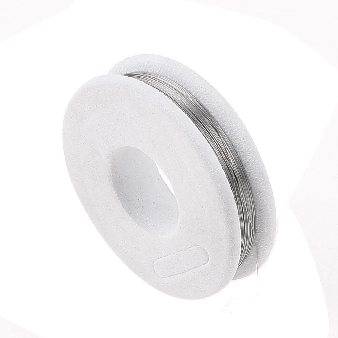 FeCrAl Wire 0, 15 millimetri 35 AWG Sezione 49.21ft Rotolo riscaldatore filo Bianco: Amazon.com: Industrial & Scientific