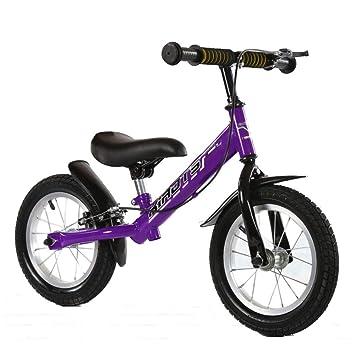 GSDZSY - Bicicleta de Equilibrio para niños, sin Pedal, con Freno ...