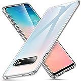 ESR Funda Essential Zero de TPU Suave Transparente Delgada Compatible con Samsung Galaxy S10, Funda Suave de Silicona Flexible - Jalea Transparente