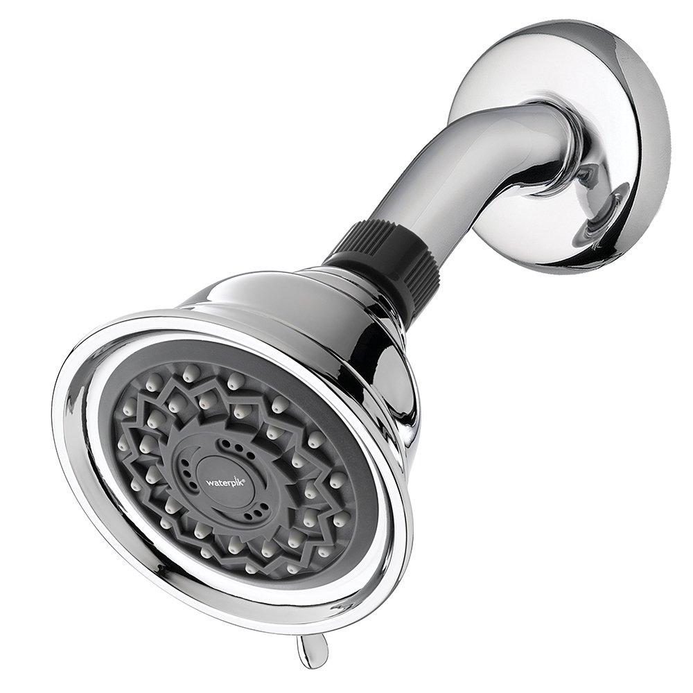 Waterpik VAT-313 3-Mode Power Spray Fixed Shower Head, 2.5 GPM, Chrome