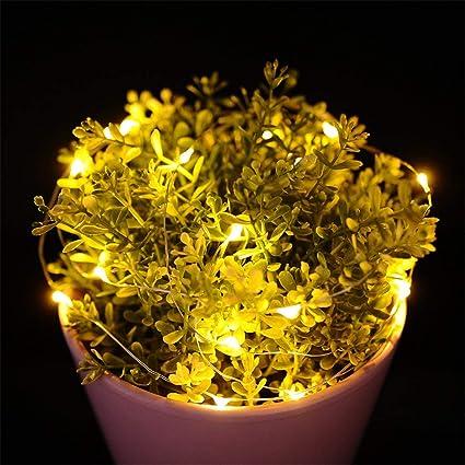 amazon com yinrunx flashing 20 led string lights lamp for xmas tree