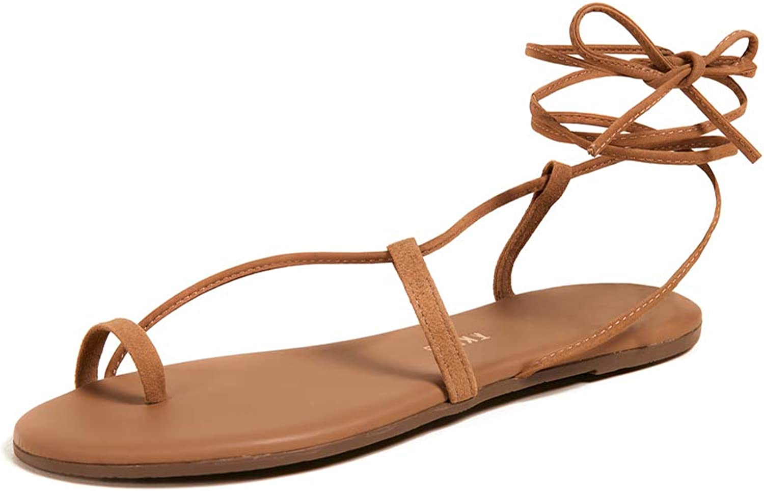 TKEES Women's Jo Lace Up Sandals