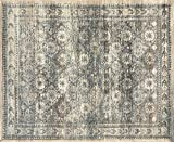 The Cloud Rugs Paradise Collection, Oriental White, Light Brown, Floral, Geometric Area Rug, 8′ x 10′ For Sale