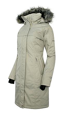 f4feb7ea8 Columbia Women's Flurry Run Down Long Omni Heat Jacket Coat Hooded Parka