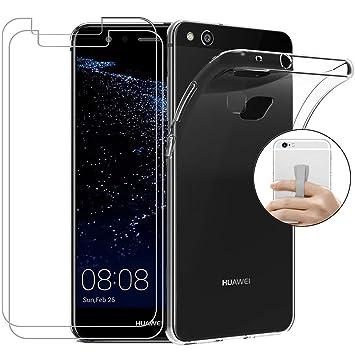 Coqin Funda para Huawei P10 Lite + [2 Pack] Vidrio ...