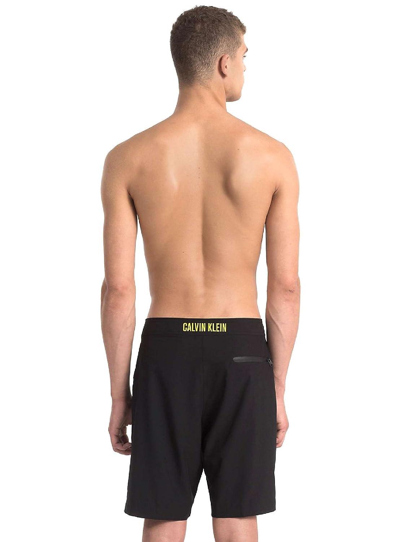 Calvin Klein KM0KM00147 Traje de Bano Hombre Negro XL ...