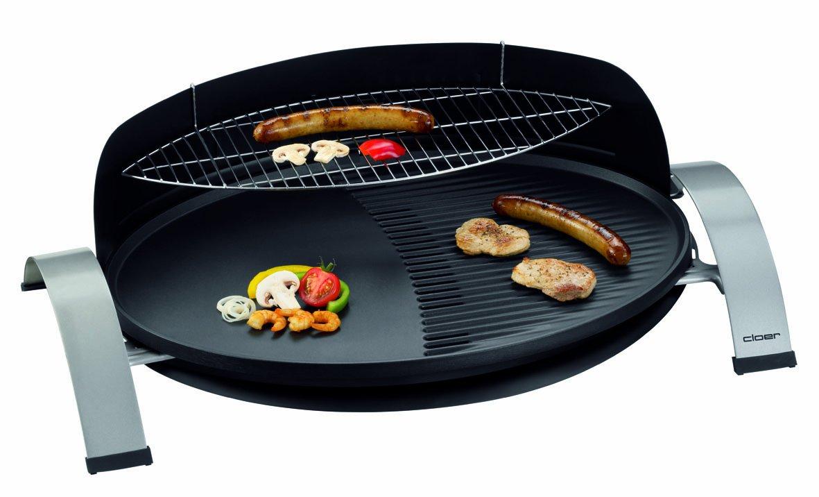 Weber Elektrogrill Verlängerungskabel : Cloer barbecue elektrogrill schwarz amazon garten
