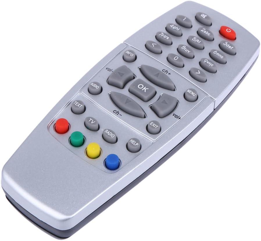 Asiproper t/él/écommande de remplacement Argent pour Dreambox 500/S//C//T DM500/DVB 2011/Ver