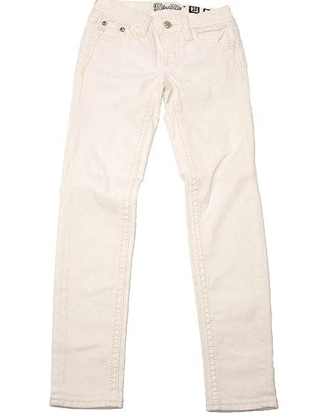 Amazon.com: Miss Me - Pantalones vaqueros de cruz blanca ...