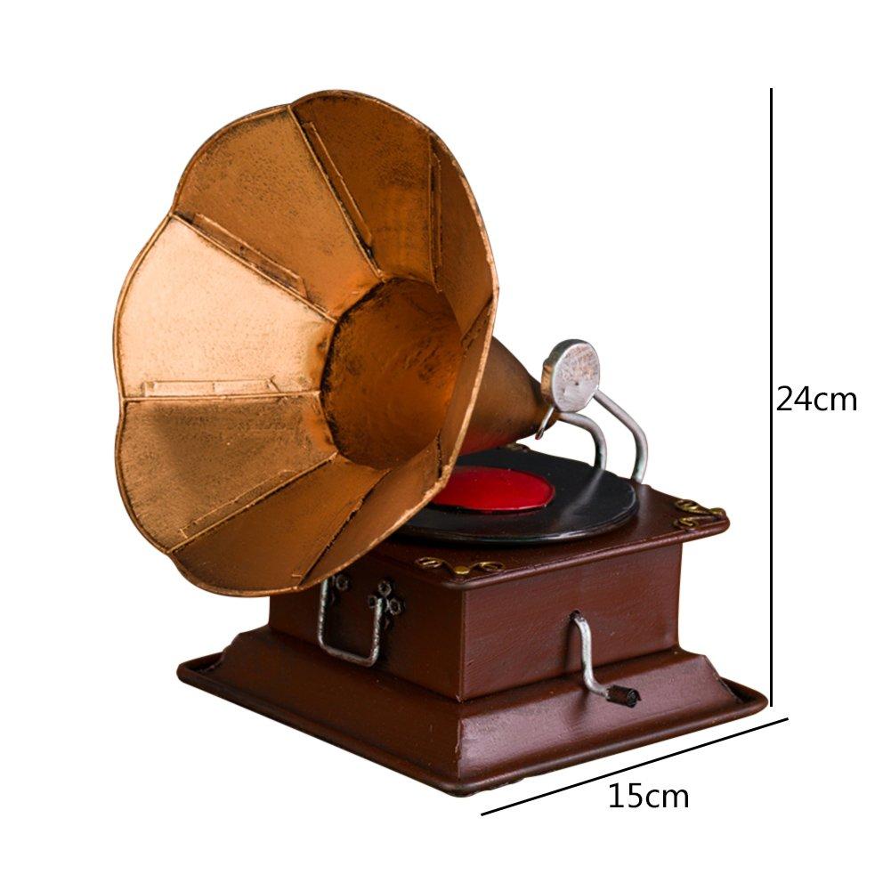 DECORACIÓN MMM- Antiguo Modelo de fonógrafo, Tocadiscos de ...
