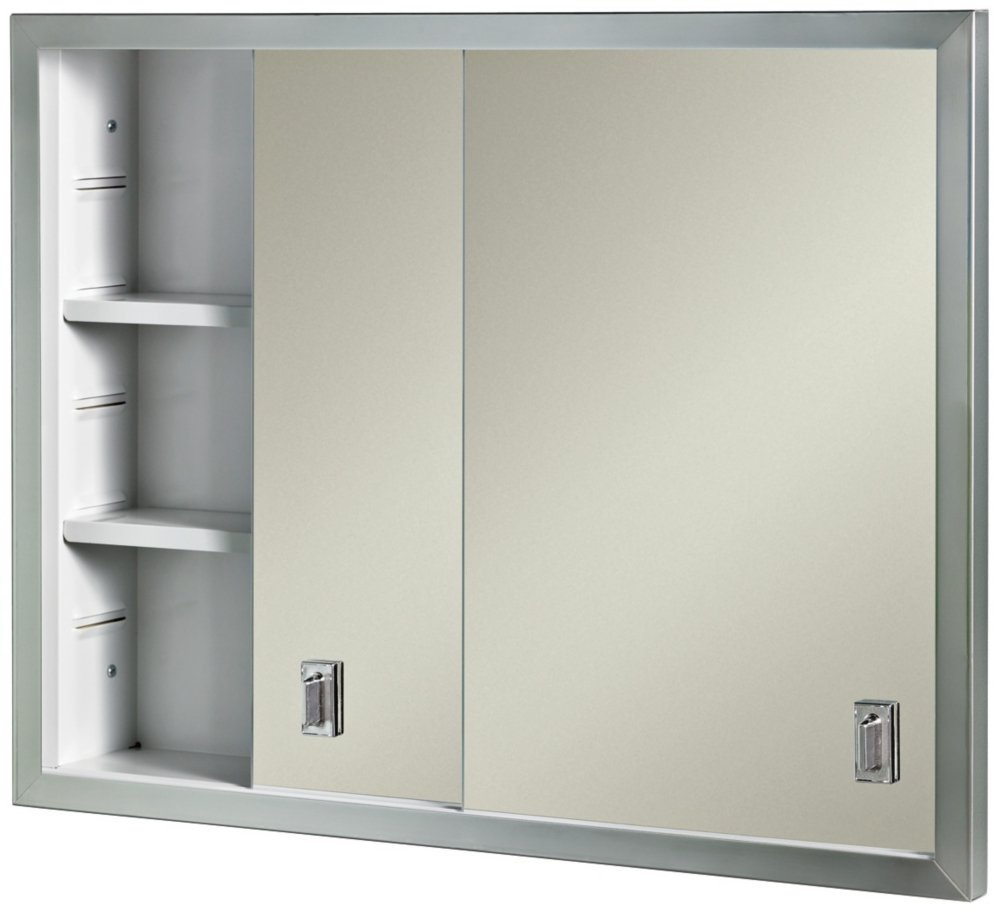 sliding door medicine cabinet broan nutone b703850 contempora sliding door recessed 26229