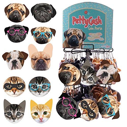 Original Monederos de Gatos y Perros con Expositor Metalico ...