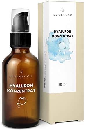 bcf3c3708109c6 Hyaluron Konzentrat - vegan & in Braunglas - hochdosiertes ...