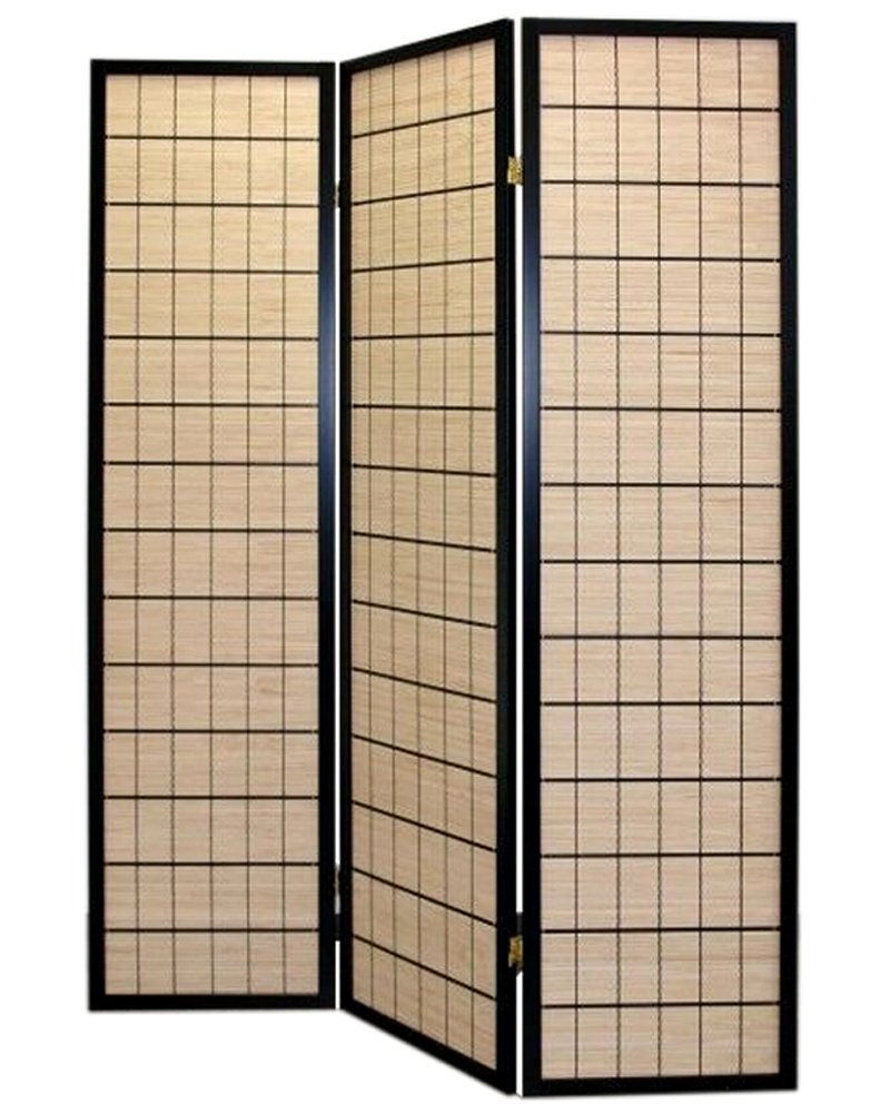 CHOKO ROOM DIVIDER SCREEN - NATURE - 3 PANEL DOUBLE SIDED FOLDABLE PRIVACY SCREEN - THESE ARE HIGH QUALITY DRESSING SCREENS / PARTITIONS FROM ROOM DIVIDERS UK