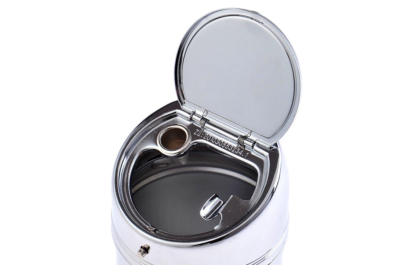 DE 635AD The Khan Outdoor & Lifestyle Company Cendrier Fait en Alliage de Zinc Mod métal Poli