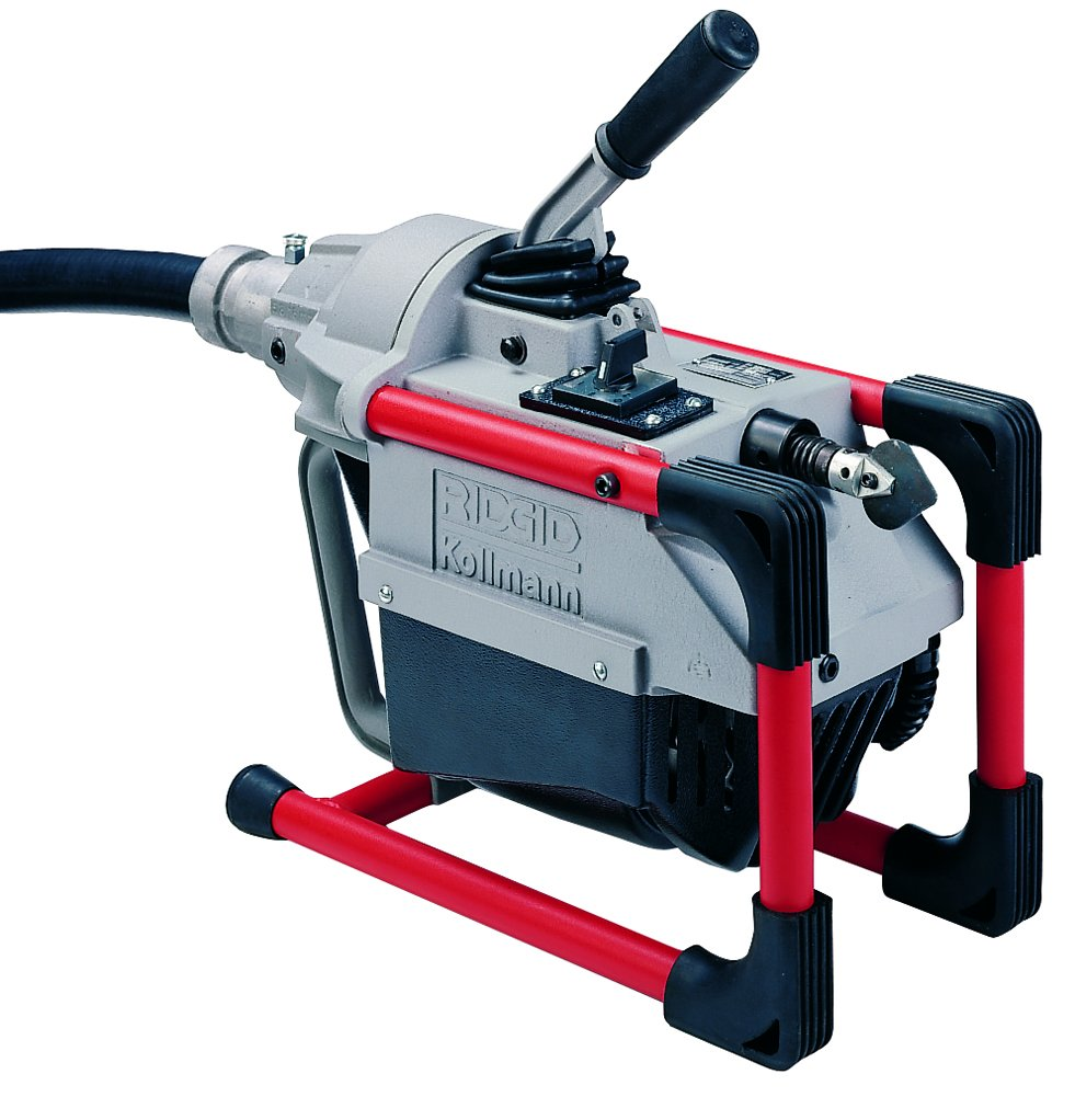 RIDGID 66492 K-60SP Sectional Machine, Compact Sectional Drain Cleaning Machine with Easy Snake Cable Changes, Drain Cleaner Machine (Sectional Cable Sold Separately) by Ridgid